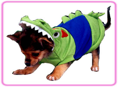 Crocodile dog Halloween Costume