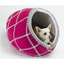 Fab Imperial Egg Dog Bed ll- pink