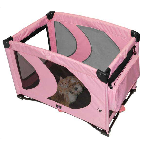 "Pet Gear Home-N-Go Pet Play Pens 25"" x 36"" Pink or Blue"