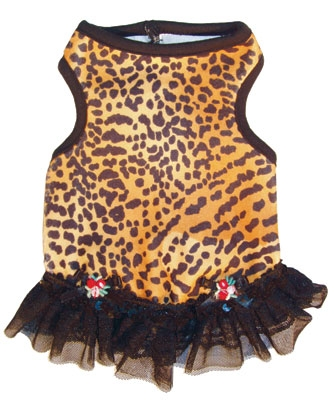 Ruff Ruff Couture Leopard Dolce Vita doggie Dress