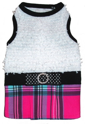 Ruff Ruff Couture Katie School girl doggie dress